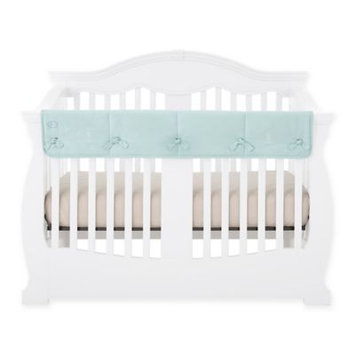 Babee Talk Eco-Teether Crib Rail Guard Cover, Aqua