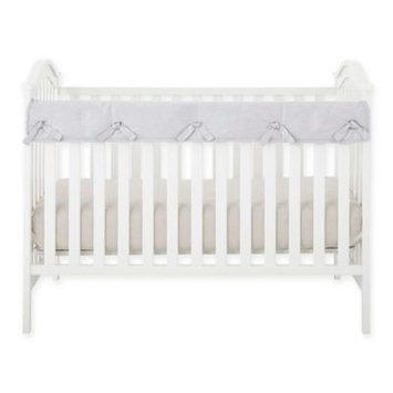 Babee Talk Eco-Teether Crib Rail Guard Cover, Gray