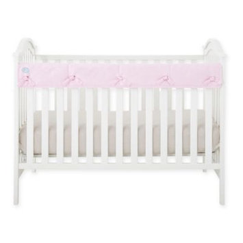 Babee Talk Eco-Teether Crib Rail Guard Cover, Solid Pink