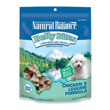 Natural Balance Belly Bites Semi-Moist Dog Treats [Options : Duck & Legume - 6 oz.]