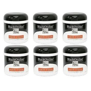 Black Orchid Hair Food Nourishing Conditioner, 7 Oz (Pack of 6) + FREE Curad Dazzle Bandages, 25 Ct.
