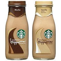 Pepsi Starbucks Frappuccino, Mocha and Vanilla, 9.5 Fl Oz, 15 Count