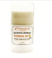 Grape Seed Sunshine Day Deodorant All Natural By The Grapeseed Company