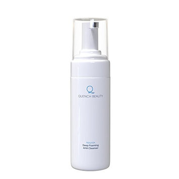 Quench Beauty AHA/Glycolic Acid 10% Foaming Facial Cleanser, 4 oz./120 ml