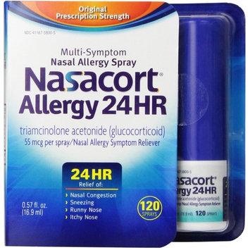 Nasacort Allergy 24 Hour 120 Sprays, 0.57 oz