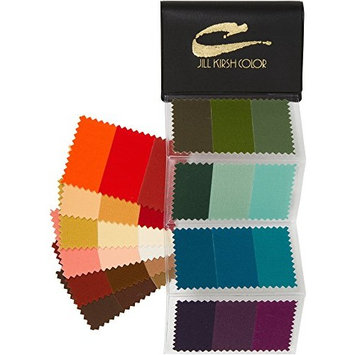Supreme Swatch Book for Golden Brown, Deep Honey Blonde & Redheads: Your Perfect Colors - For Men & Women - Look Younger and Thinner Wearing Your Colors! By Jill Kirsh Color, Hollywood's Guru of Hue