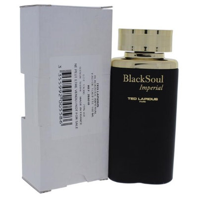 Ted Lapidus M-T-2298 Black Soul Imperial EDT Spray for Men - 3.33 oz EDT Spray