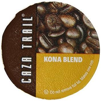 Caza Trail Coffee, Kona Blend, 50 Single Serve Cups [Kona Blend]