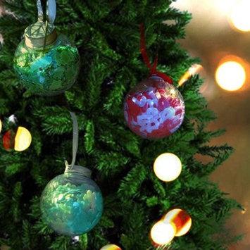 Wrapables Holiday Bath Confetti Ornaments, Set of 3