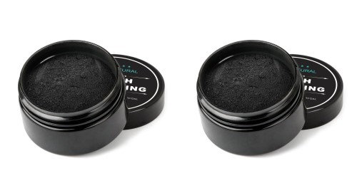 Beautimate 2 Pack Natural Teeth Whitening Activated Charcoal Toothpaste Powder