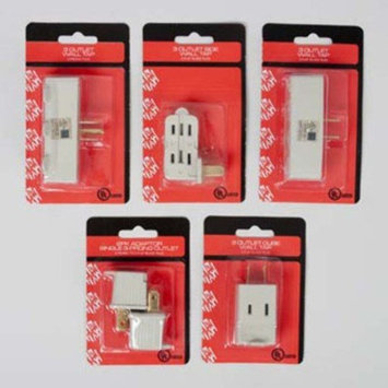 DD Wall Adapters - 5 Styles(pack Of 180)