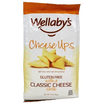Wellaby's Wellabys Cheese Ups, Classic Cheese, 3 OZ (Pack of 2)