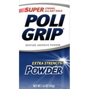 Super Poli-Grip Extra Strength Super Poligrip Powder -- 1.6 oz Personal Healthcare / Health Care