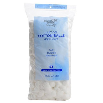 Wal-mart Stores, Inc. Equate Beauty Jumbo Cotton Balls, 400 count
