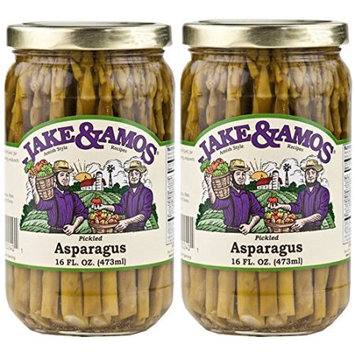 Dv Foods Jake and Amos Pickled Asparagus - 2 - 16 oz. Jars