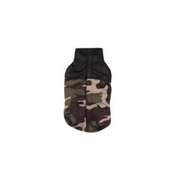 Casual Canine Camo Dog Vest Size: Medium, Color: Green