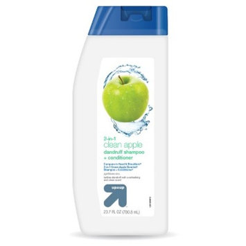 2 in 1 Shampoo and Conditioner Clean Apple - 23.7oz - Up&Up™ (Compare to Head & Shoulders 2-in-1 Green Apple Dandruff Shampoo +Conditioner)