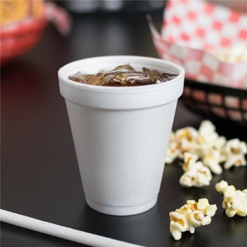 Dart 6J6 CPC 6 oz Space Saver Foam Cups - White Case of 1000