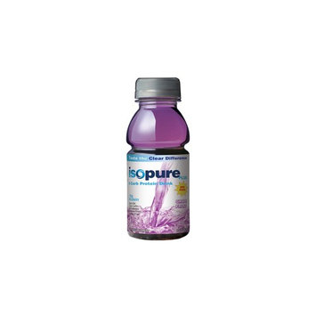 Isopure Plus 0 Carb Protein Drink, Grape Frost, 24 - 8 Fluid Ounce Bottles