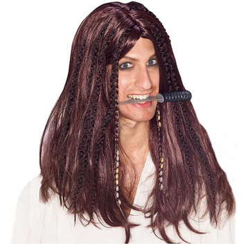 Swashbuckler Wig Adult Costume Accessory