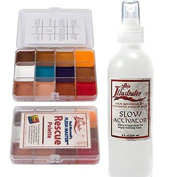 Skin Illustrator On Set Palette Rescue and Slow Activator Bundle