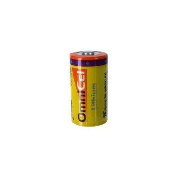 OmniCel ER26500 3.6V 8.5Ah Size C Lithium Button Top Battery