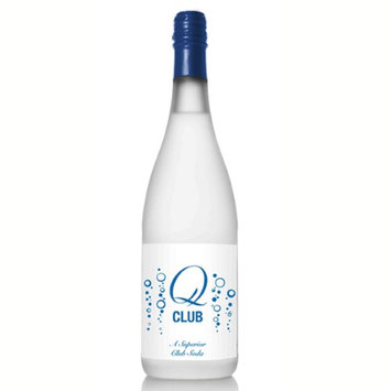 Q Drinks Club A Superior Club Soda 25.4 oz Glass Bottles (Pack of 6)