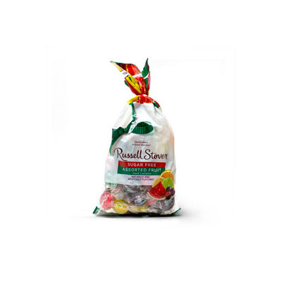 Russell Stover Chocolates Russell Stover Sugar Free 12 OZ Assorted Fruit Hard Candies Bag