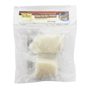 Sea Best Chilean Sea Bass Portions, 12 Ounce