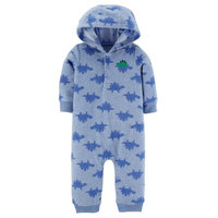 Child of Mine by Carter's Newborn Baby Boy Longsleeve One Piece Playwear Outfit