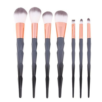 7 Pcs Unicorn Diamond Makeup Brush Set Powder Eyeshadow Blending Cosmetic Make Up Tool Professional Natural Beauty Palettes Magnificent Popular Eyes...