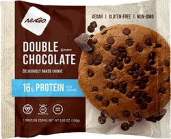NuGo Nutrition Kosher Double Chocolate Cookies - Gluten Free - 1 Cookie