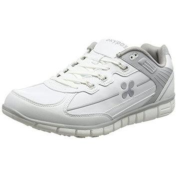 Oxypas Henny, Men's Safety Shoes, White (Nav), 10.5 UK
