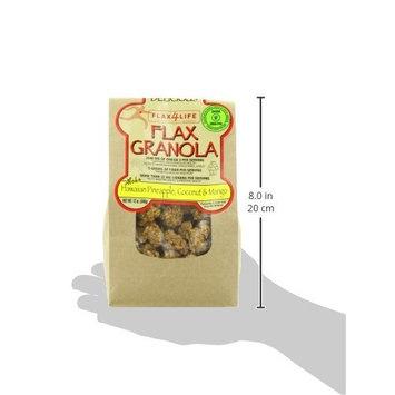 Flax4Life Flax Granola, Hawaiian Pineapple, Coconut and Mango, 12 Ounce [Hawaiian Pineapple, Coconut and Mango]