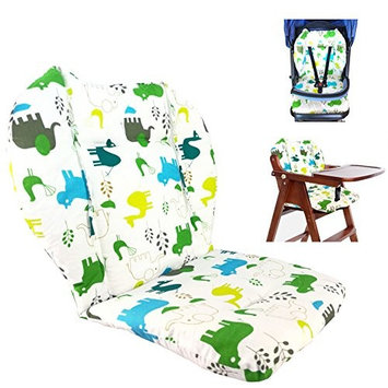 Ancho Baby Stroller/Highchair/Car Seat Cushion Protective Film Breathable Waterproof high chair pad (Elephant)