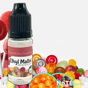 NoTE Flavors Liquid Ethyl Maltol (EM) - 10-120mL Food Grade Concentrated Sweetener