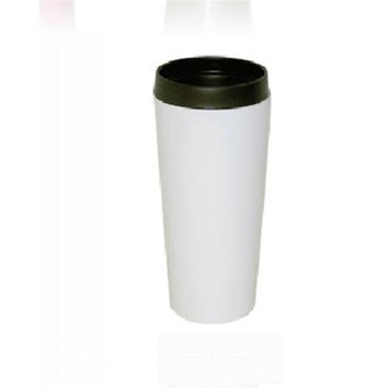 Good Life Gear SF3007 WHT 16 oz. HotCold Travel Mug With Screw On Lid White
