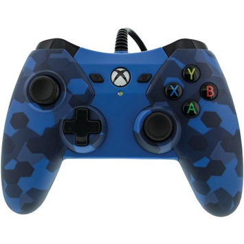 2 Pack PowerA Wired Controller for Xbox One - Midnight Blue Camo (1503455-01)
