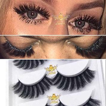 "100% Siberian Mink ""Vivica"" Eyelash - Handmade Long Lasting Lashes - 25+ Wears"