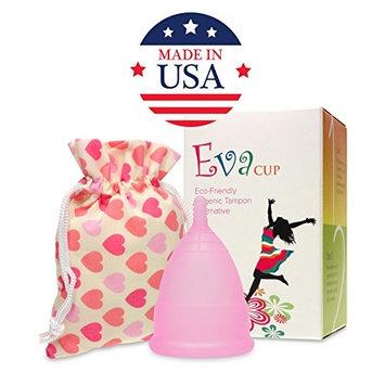 Anigan Reusable Menstrual EvaCup, 2 Pack, Small, Cherry Blossom