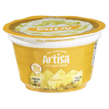 Smithfoods Inc. Artisa All Natural Pineapple Cottage Cheese