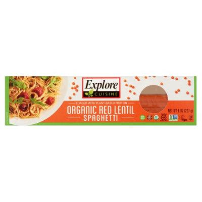 Explore Cuisine Organic Red Lentil Spaghetti, 8 oz