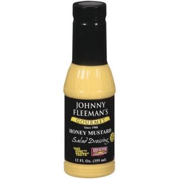 Johnny Fleeman's Gourmet Honey Mustard Salad Dressing 12 fl. oz. Jar