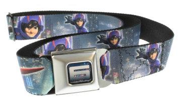 Disney Big Hero 6 - Hiro & Baymax Seatbelt Belt-Holds Pants Up