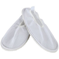 Home-X Women's Secure Slip Resistant Shower Shoes w/ Non Skid Heavy Duty Grooved Soles for Fall Prevention. Spa Slippers (XL - Size 11-12)