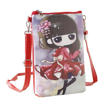 HP95(TM) Kids Girl Mini Crossbody Bag with Magnetic Women Cartoon Shoulder Bag Cell Phone Purse