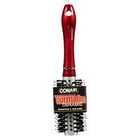 Conair Brush Tourmaline Ceramic Round Medium Red 1.0 ea(pack of 6)