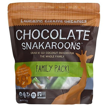 Laughing Giraffe Snakaroons, Chocolate, 22 Count Family Pack [Chocolate]