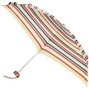 Totes Miniflat 5 Thin Print Speckle Dots Umbrella