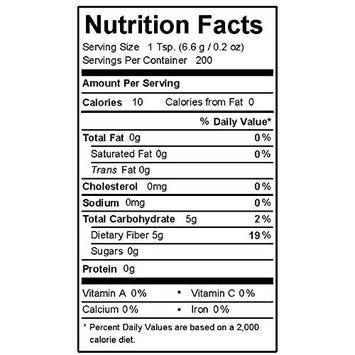 Fiber Yum Non-GMO, Corn-Free, Pre-Biotic Fiber IMO Syrup Sweetener - 2.5 Pound